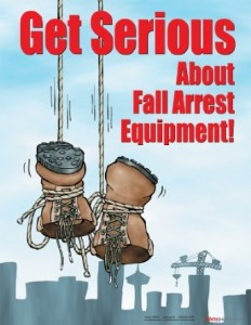 Get serious about fall protection photo