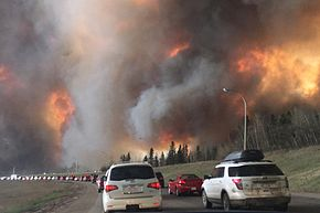 Some FMCA members found work fighting the fires