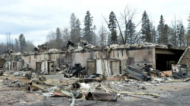 Images of the devastation in Mariano's neighborhood of Abasand in Fort McMurray are heartbreaking