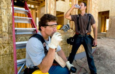 Give your workers 'cool-down' breaks during the day so they can rest and hydrate their bodies