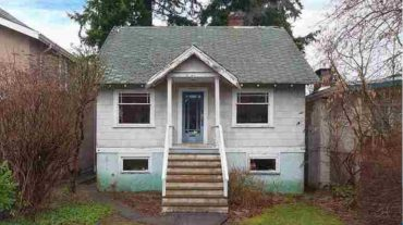 This Vancouver single family lean-to sold for $2.4 million, and will replaced with a massive infill home