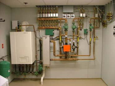 Central control for a radiant heat system