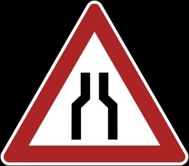 bottleneck-traffic-sign