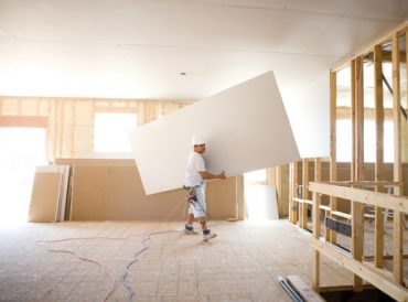 Drywall installers and contractors of all sizes are upset over new tariffs on imported gypsum wallboard.