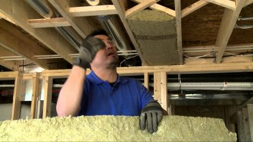 For the few dollars spent, your client will never regret sound insulation between floors or around drainage pipes