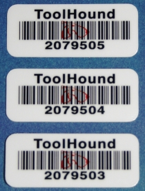 'ToolHound' replies on manual scanning of bar codes to log removal and return from tool inventory storage