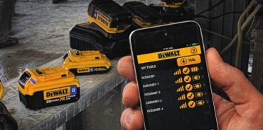 DeWalt's 'ToolConnect' tracks, manages and customizes tools using free downloadable software